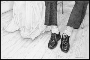 Wedding Shoes by Saundra Howard