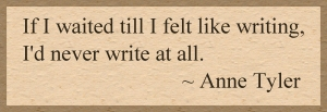Anne Tyler Quote