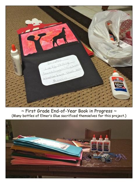 First Grade Book-in-Progress