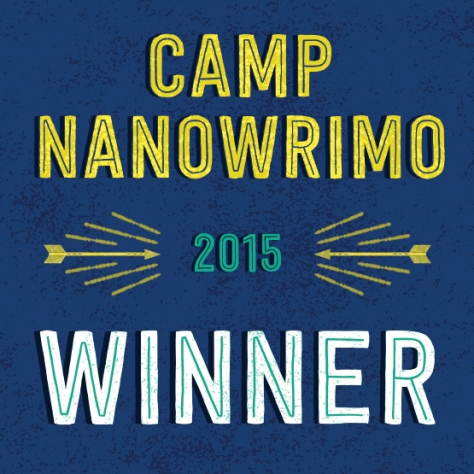 Camp NaNoWriMo 2015 Winner