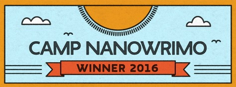 Camp NaNoWriMo Apr 2016 Winner