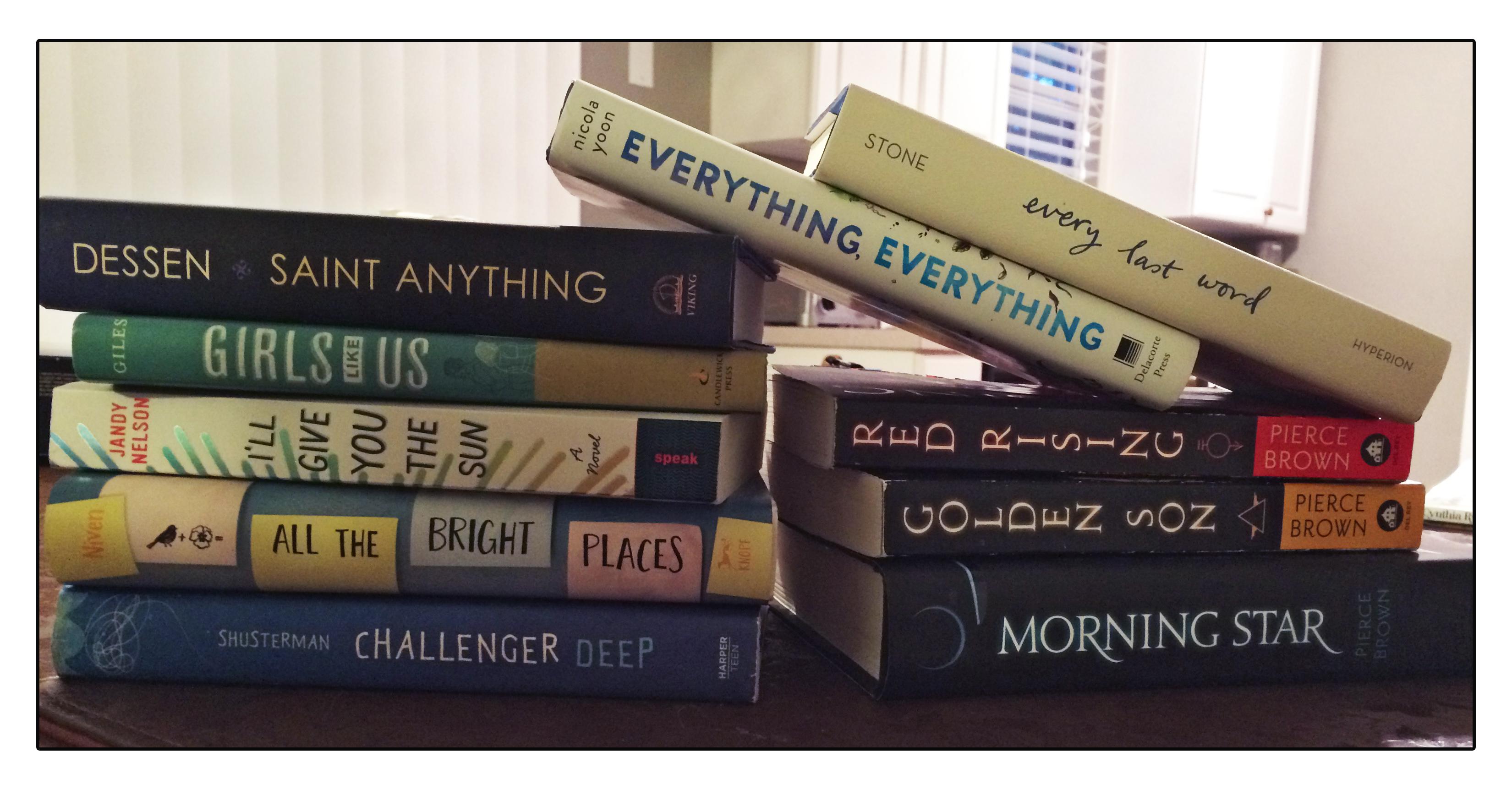 Florida Teen Reads books
